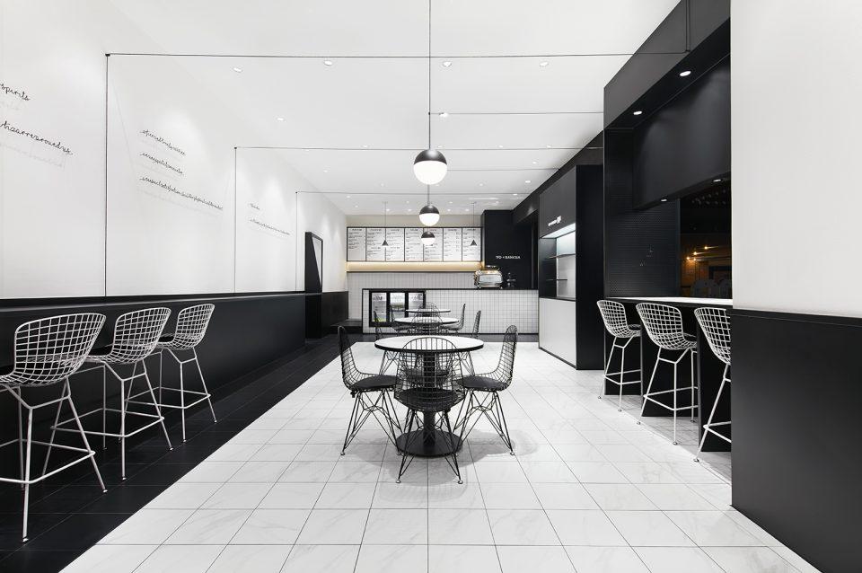 极简、格调、有色味的简餐咖啡餐饮空间敢吗?