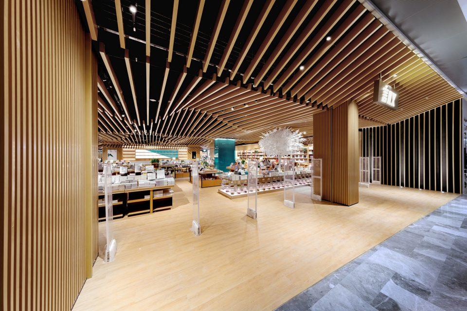 商店图书馆装修,设计、城市与商品完美结合