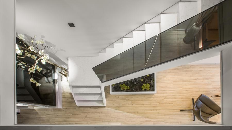 光明新区不一样的办公室装修