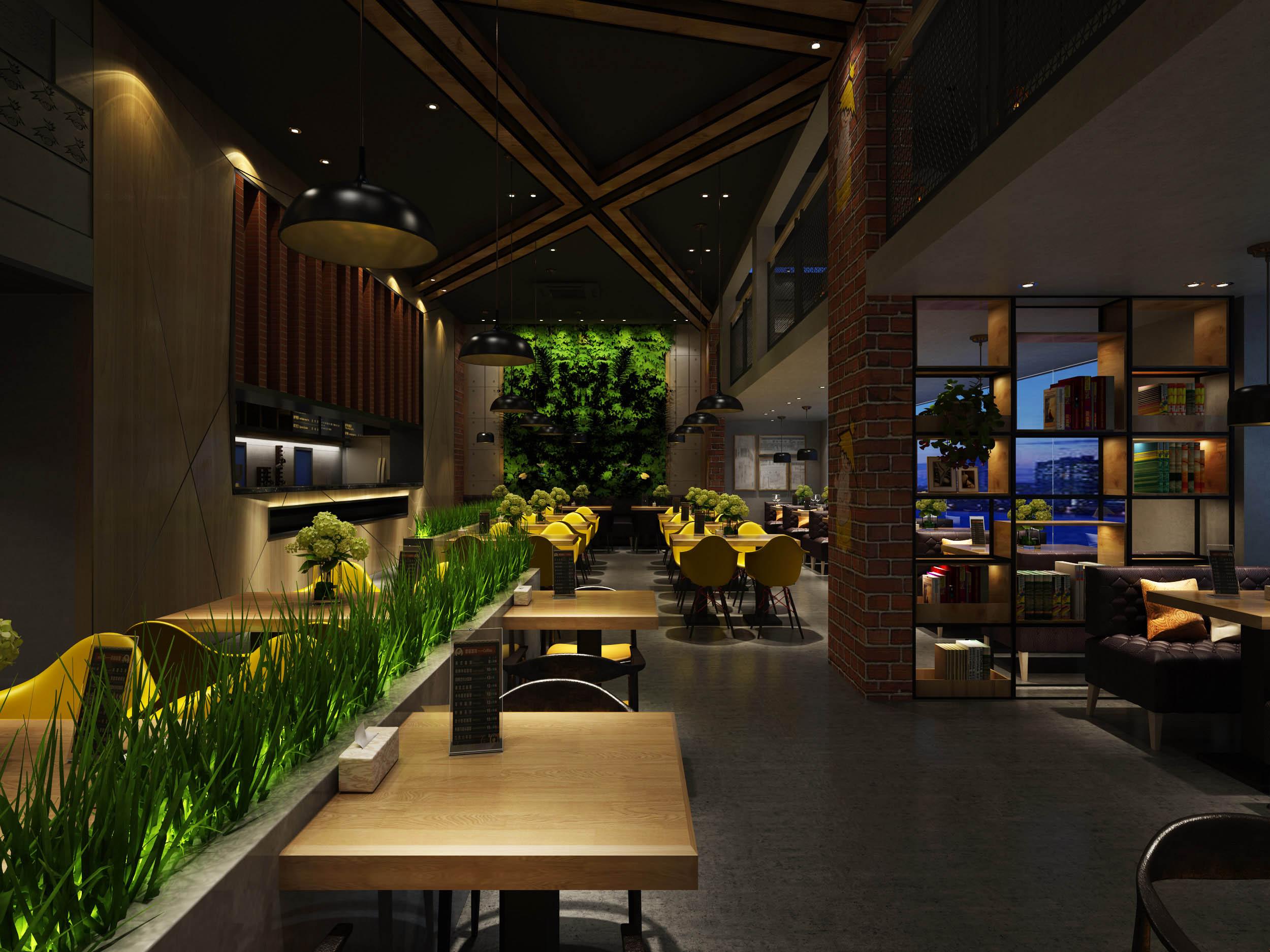 约220M²工业风永和豆浆餐饮连锁店