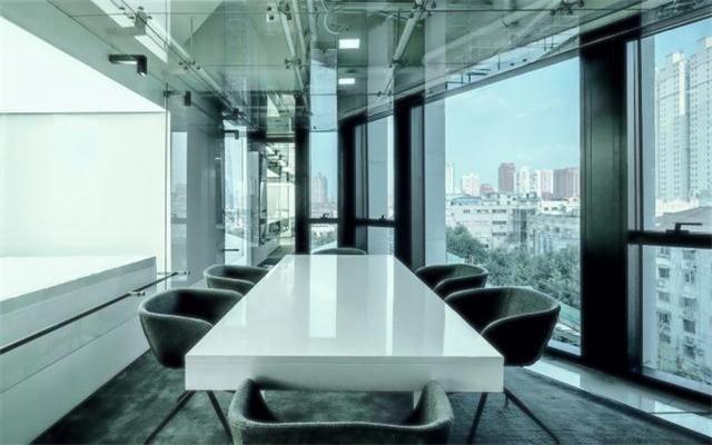 办公室玻璃装修效果