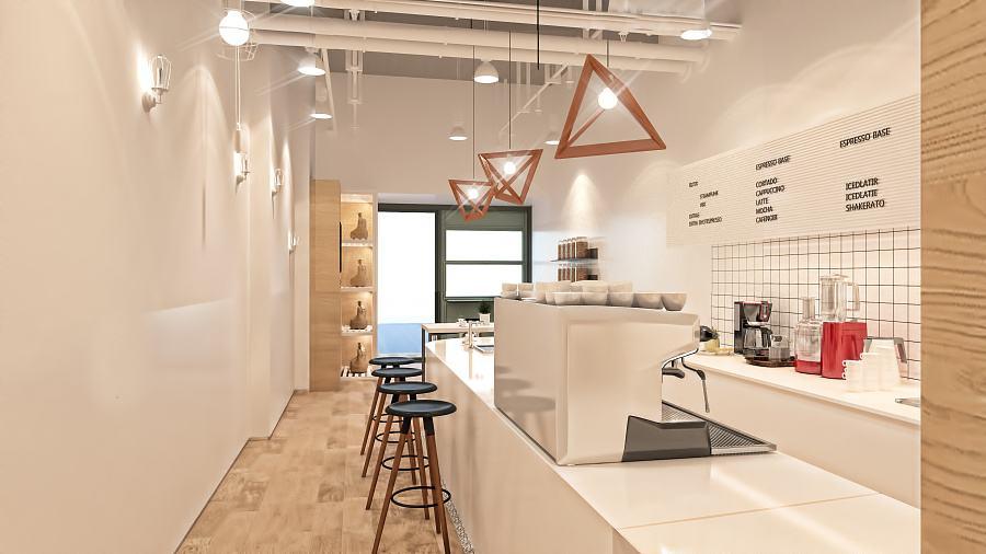 清新风的深圳奶茶店装修,你会喜欢吗?