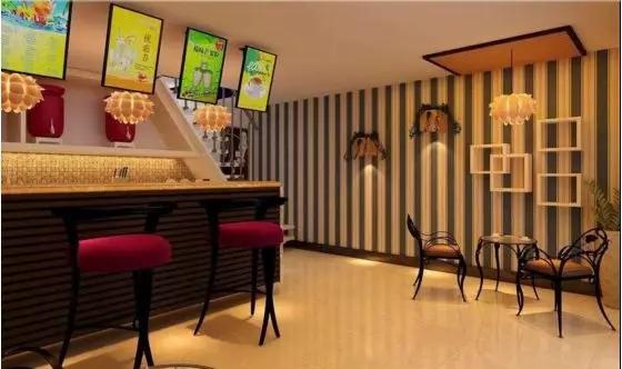 深圳奶茶店装修:奶茶店的菜单设计