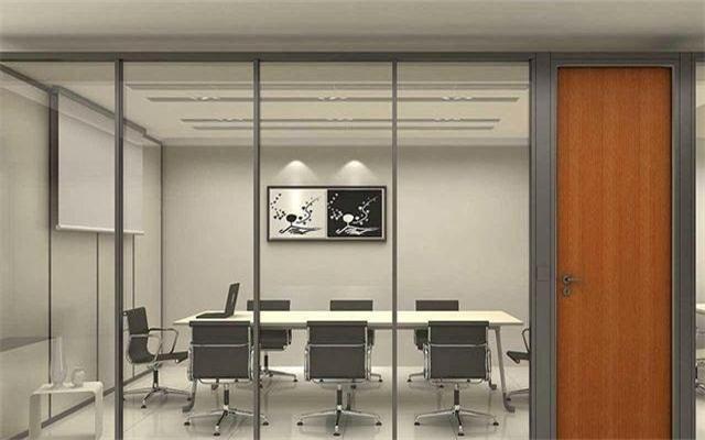 办公室 玻璃装修效果