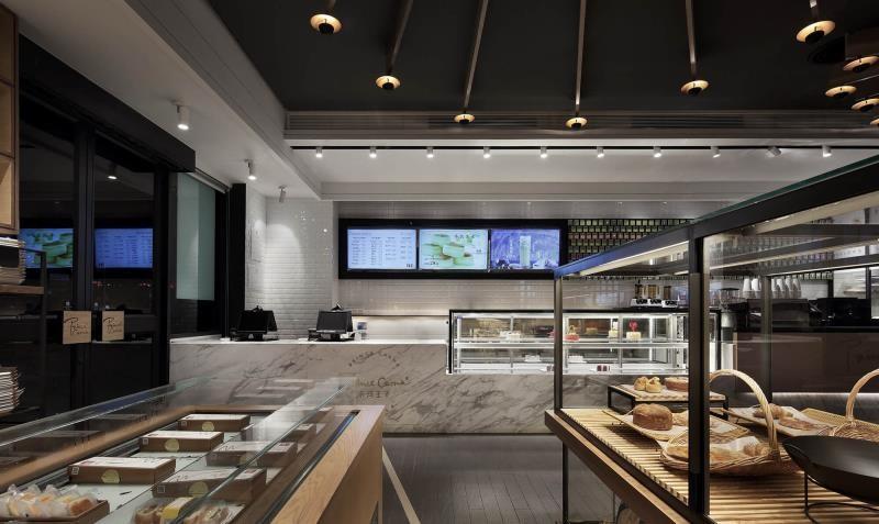 非常精美的深圳蛋糕店装修案例