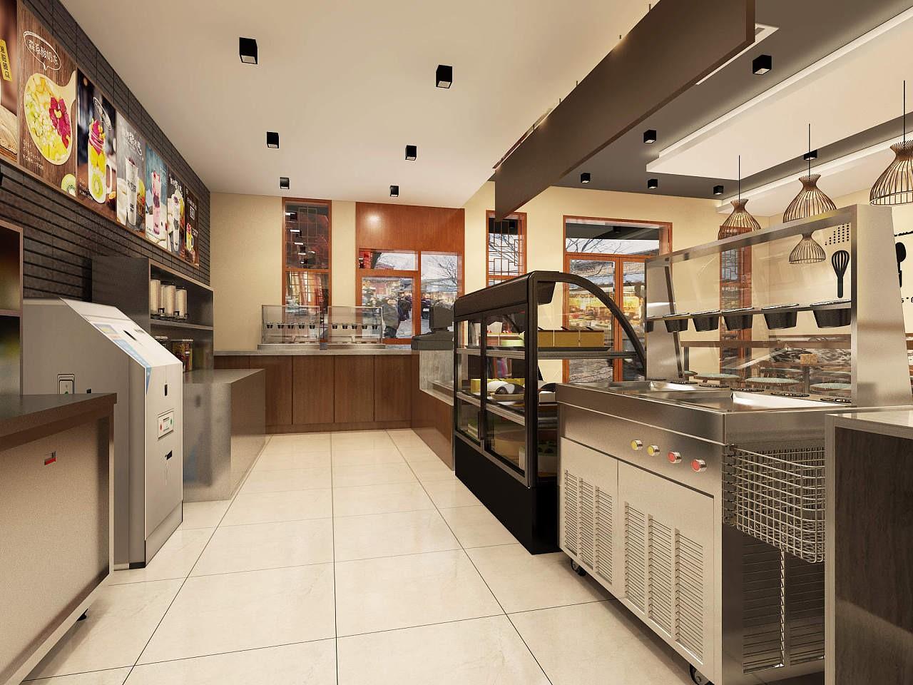 深圳奶茶店装修与深圳奶茶店装修设计有哪些不同?