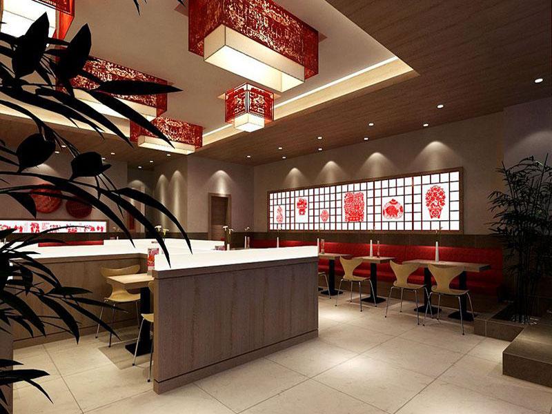 中式快餐店装修