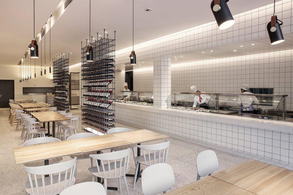 深圳餐厅装修改造效果图