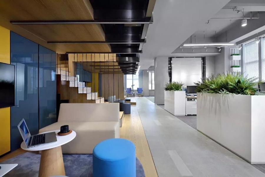 立欧实业办公室装修设计