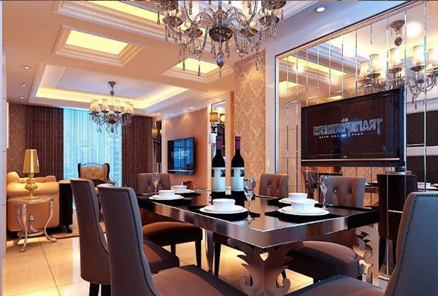 深圳餐厅装修效果图
